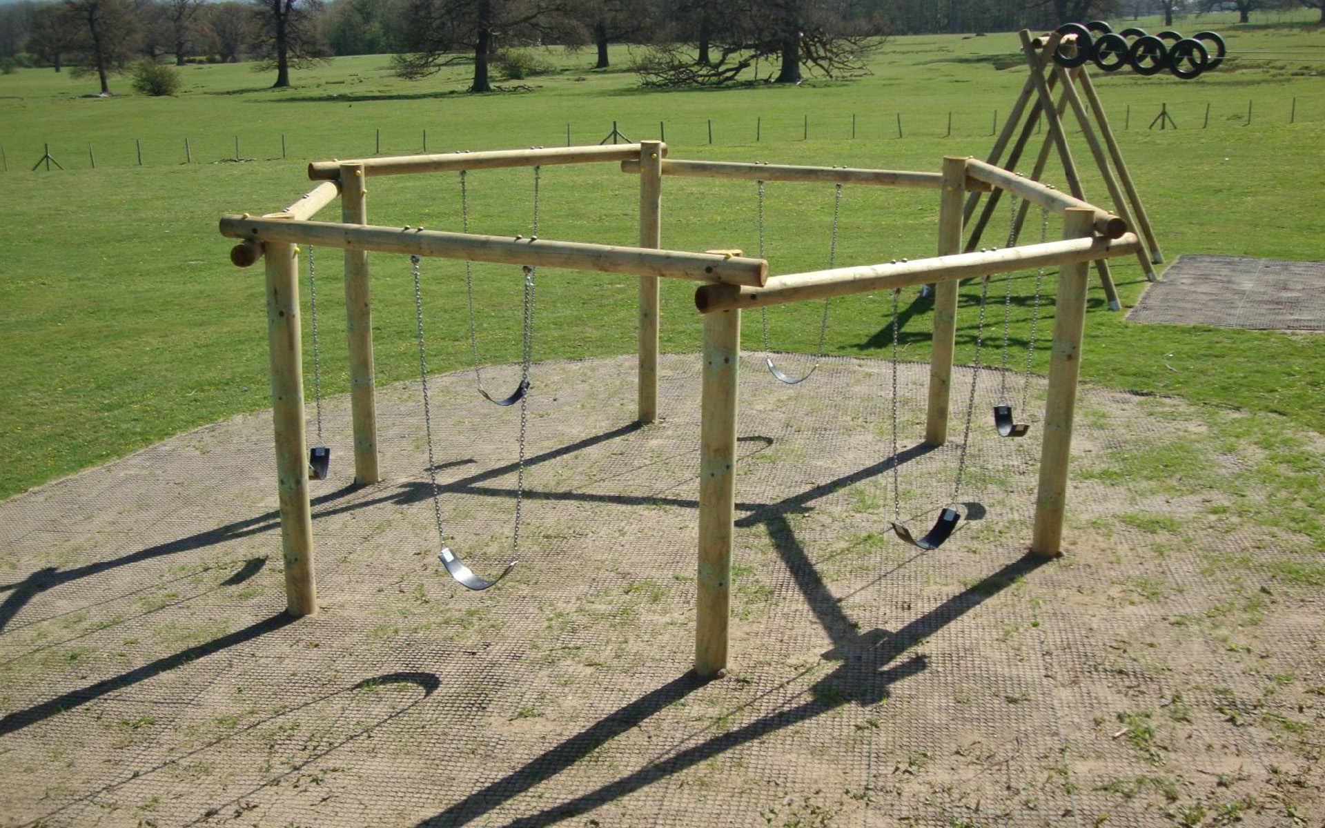 Hexagon Swing at Bodelwyddan Castle
